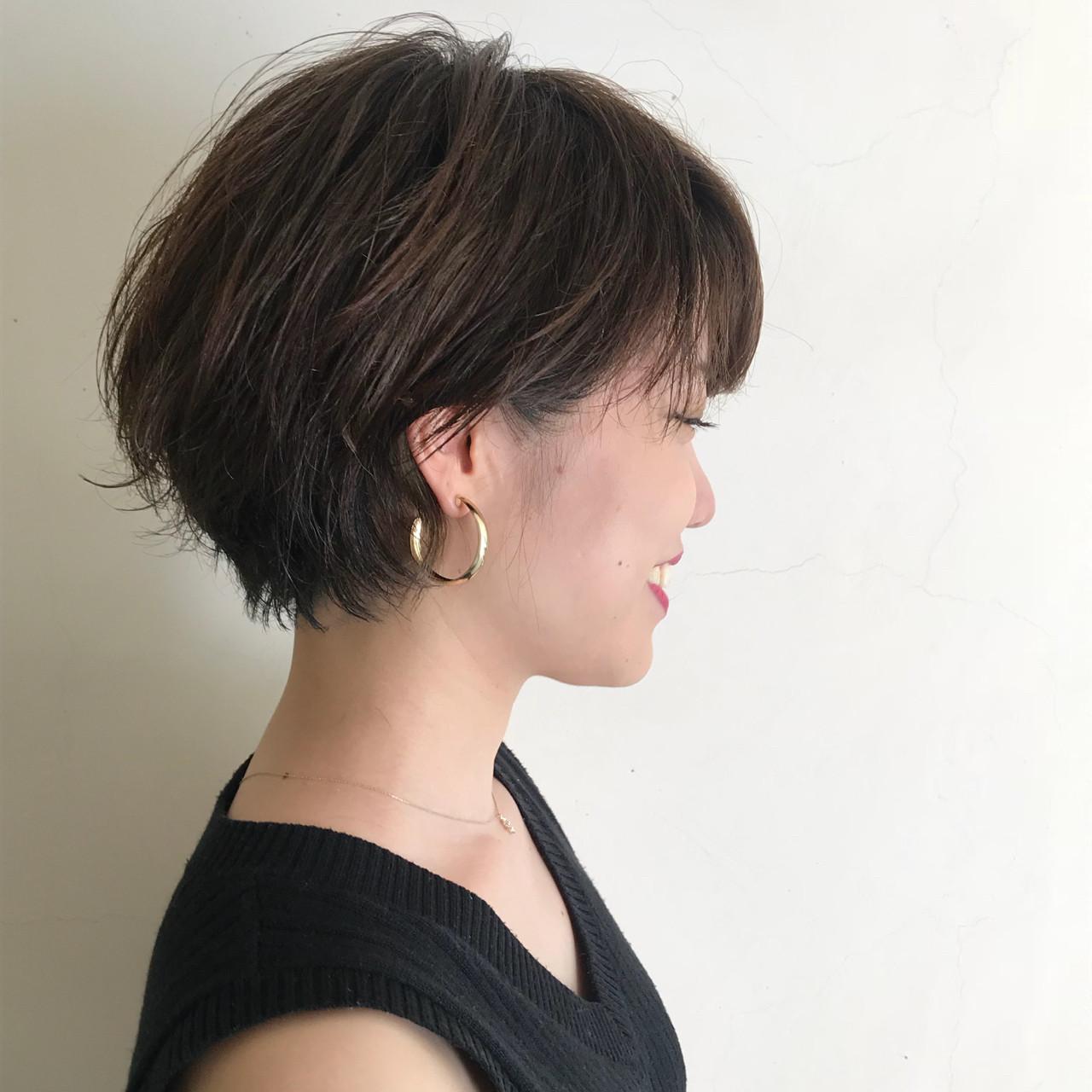 フェミニン エフォートレス スポーツ ショート ヘアスタイルや髪型の写真・画像 | 仙石将也 rire / rire