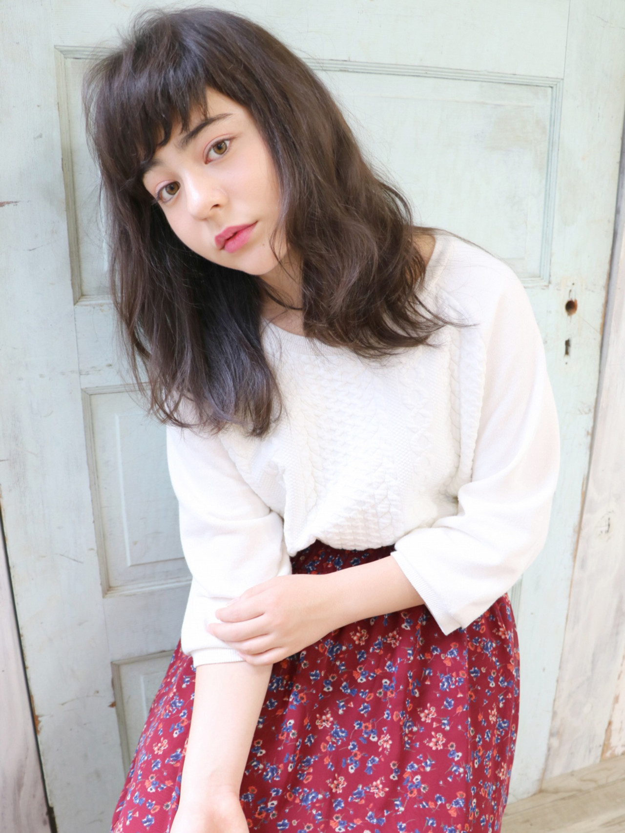前髪あり 外国人風 ストリート 暗髪 ヘアスタイルや髪型の写真・画像   石川フミヤ / Jule