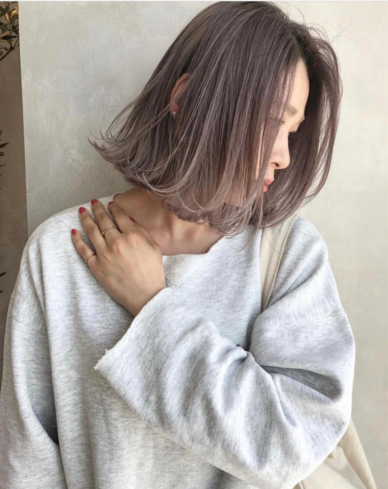外国人風 外国人風カラー ストリート アッシュ ヘアスタイルや髪型の写真・画像