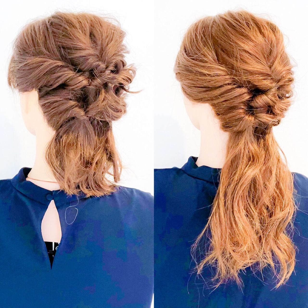 アウトドア 大人女子 上品 ヘアアレンジ ヘアスタイルや髪型の写真・画像