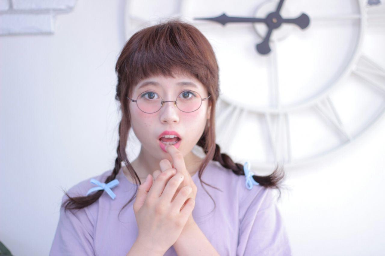 モテ髪 コンサバ 三つ編み ヘアアレンジ ヘアスタイルや髪型の写真・画像