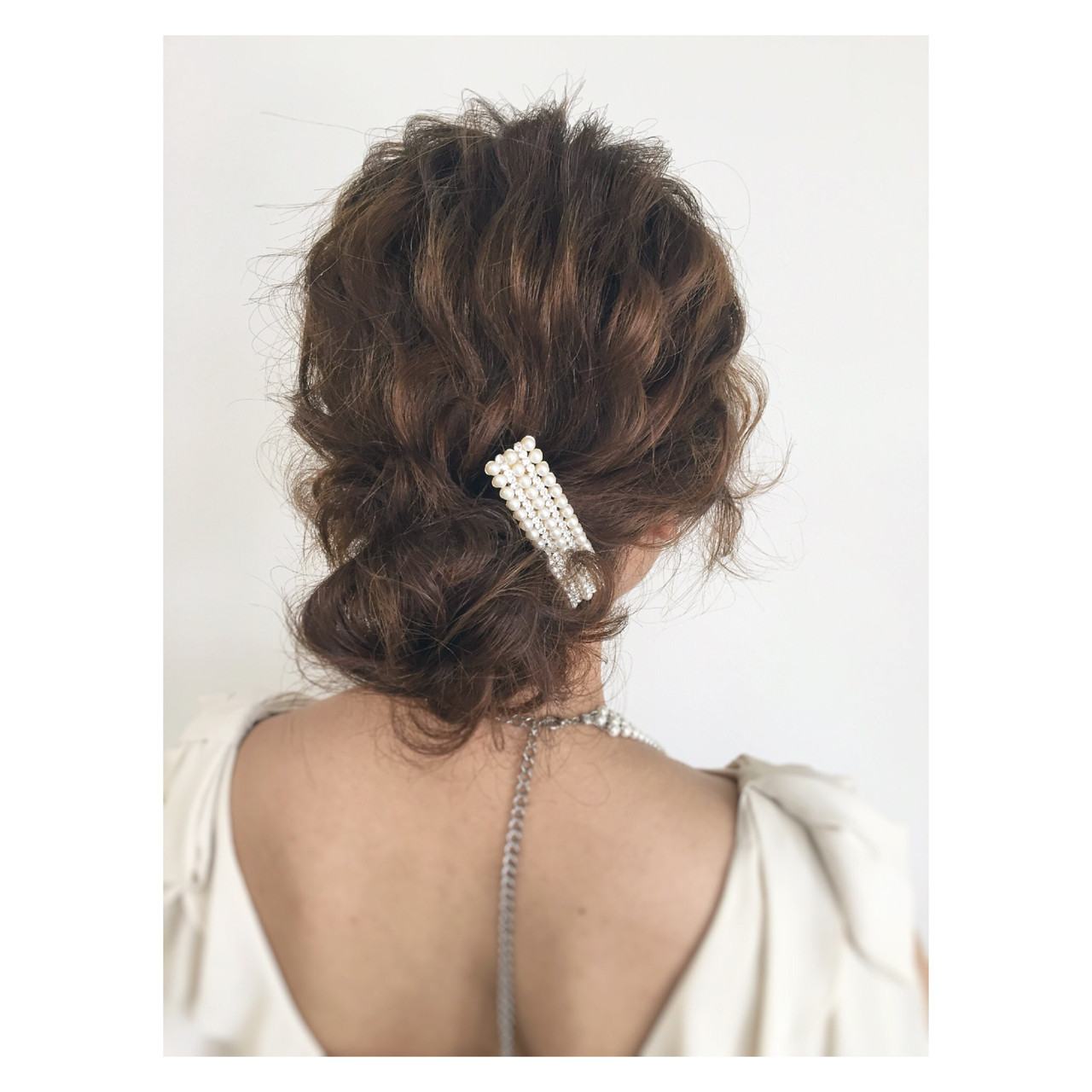お団子 メッシーバン ヘアアレンジ シニヨン ヘアスタイルや髪型の写真・画像