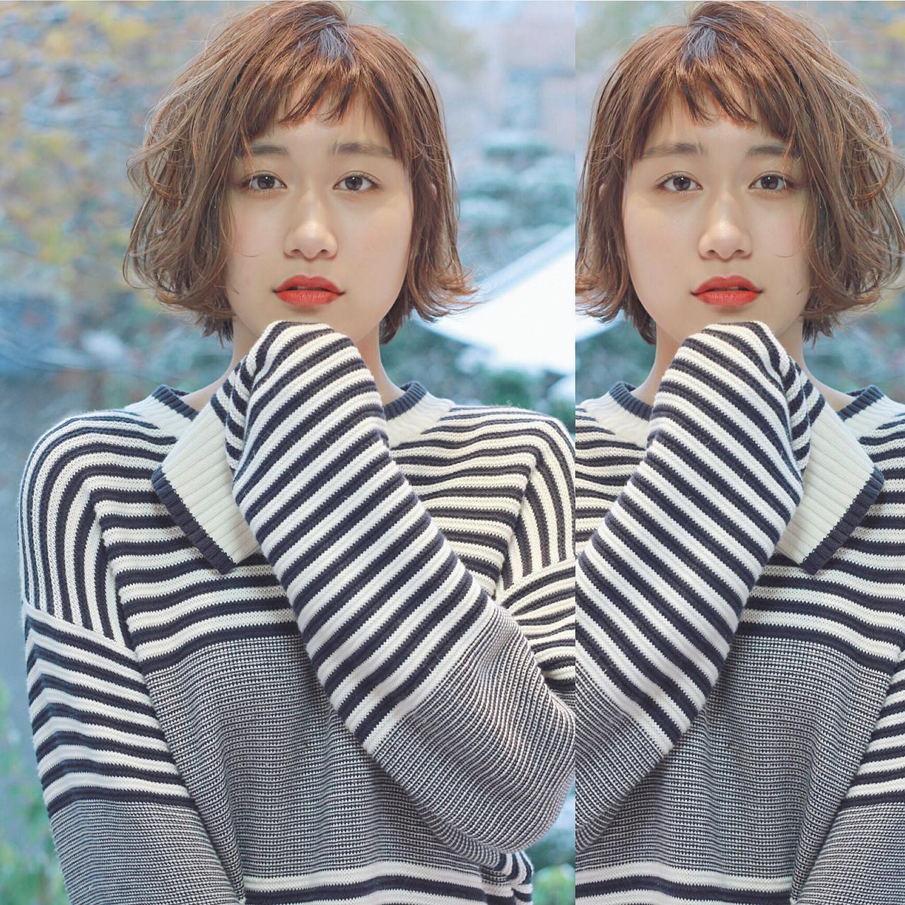 ウルフカット 外国人風 ガーリー イルミナカラー ヘアスタイルや髪型の写真・画像 | 須賀 ユウスケ / Rizm