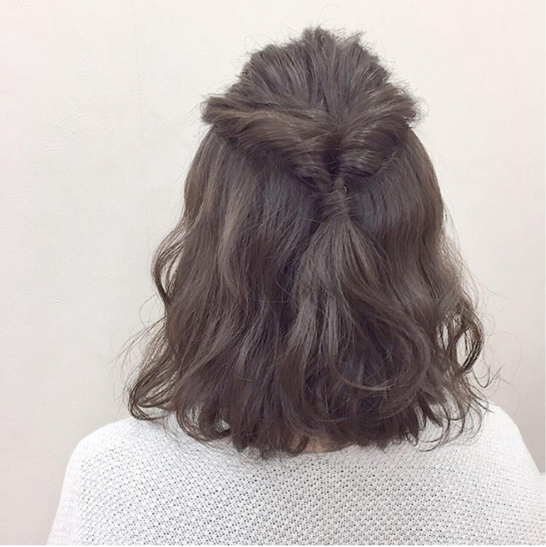 大人かわいい ゆるふわ アッシュグレージュ グレージュ ヘアスタイルや髪型の写真・画像 | Katsuhito Emori / 電髪倶楽部street