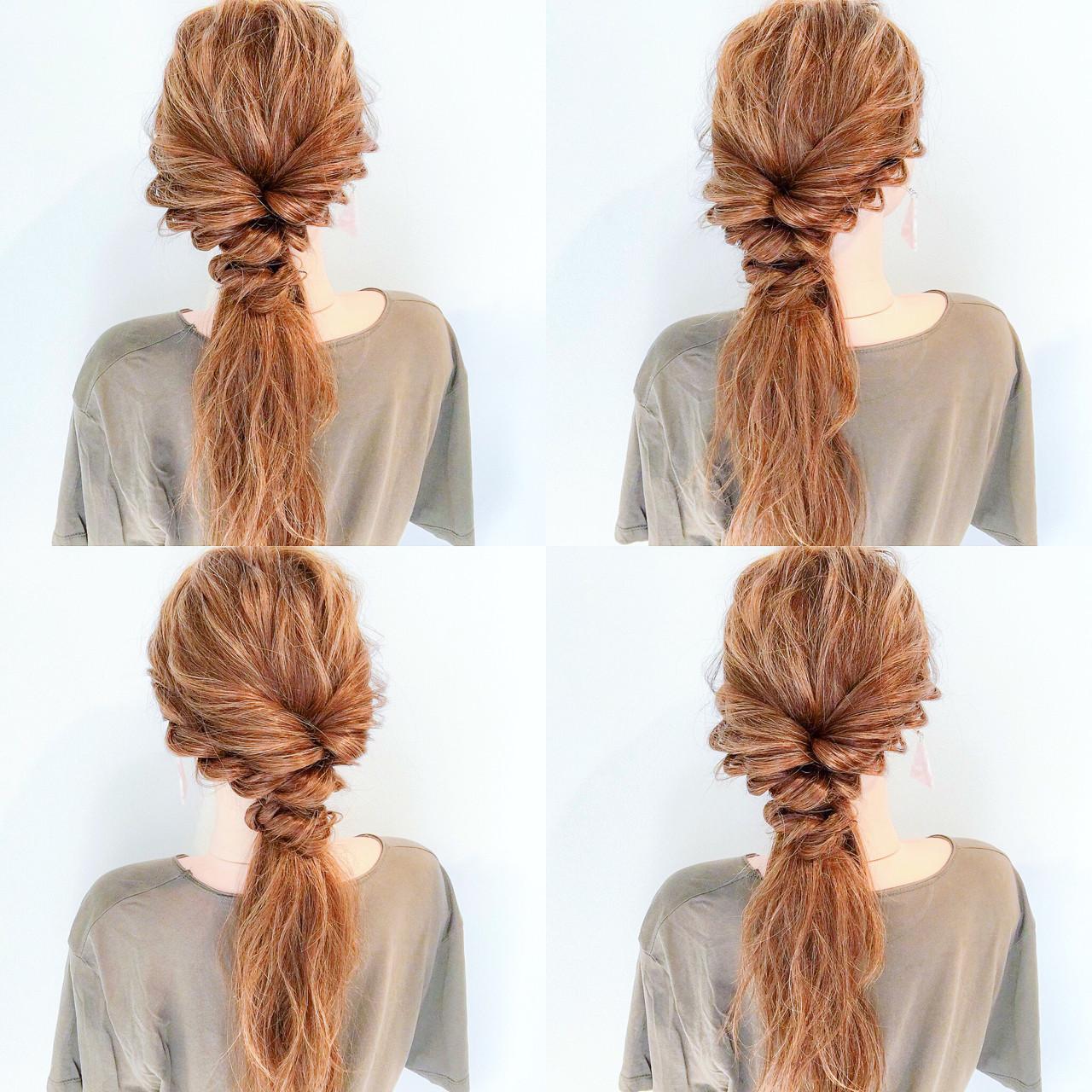 アウトドア 簡単ヘアアレンジ 上品 エレガント ヘアスタイルや髪型の写真・画像