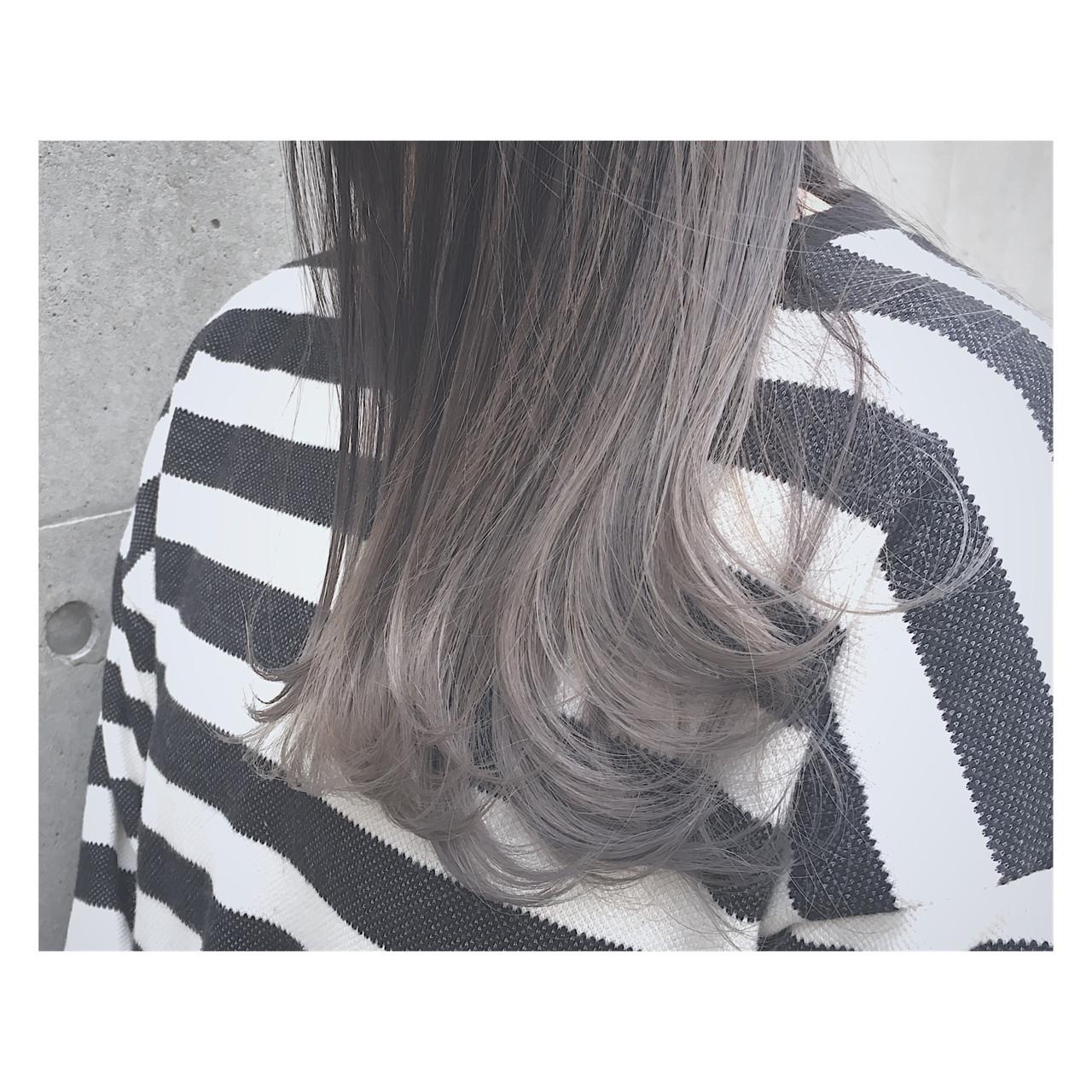 ストリート アッシュ 外国人風 透明感 ヘアスタイルや髪型の写真・画像 | 廣田 崇明 / FLOWERS