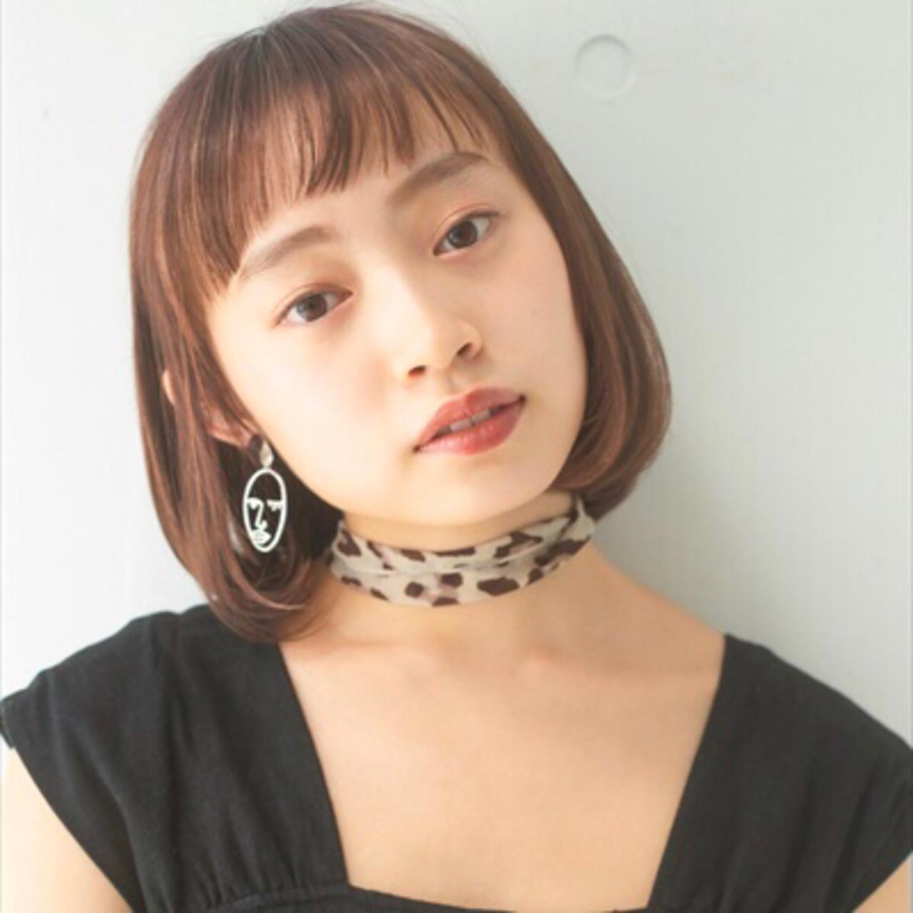 ショートヘア ボブ ナチュラル ショートボブ ヘアスタイルや髪型の写真・画像 | 岩舘 司 / Claude MONET 下北沢