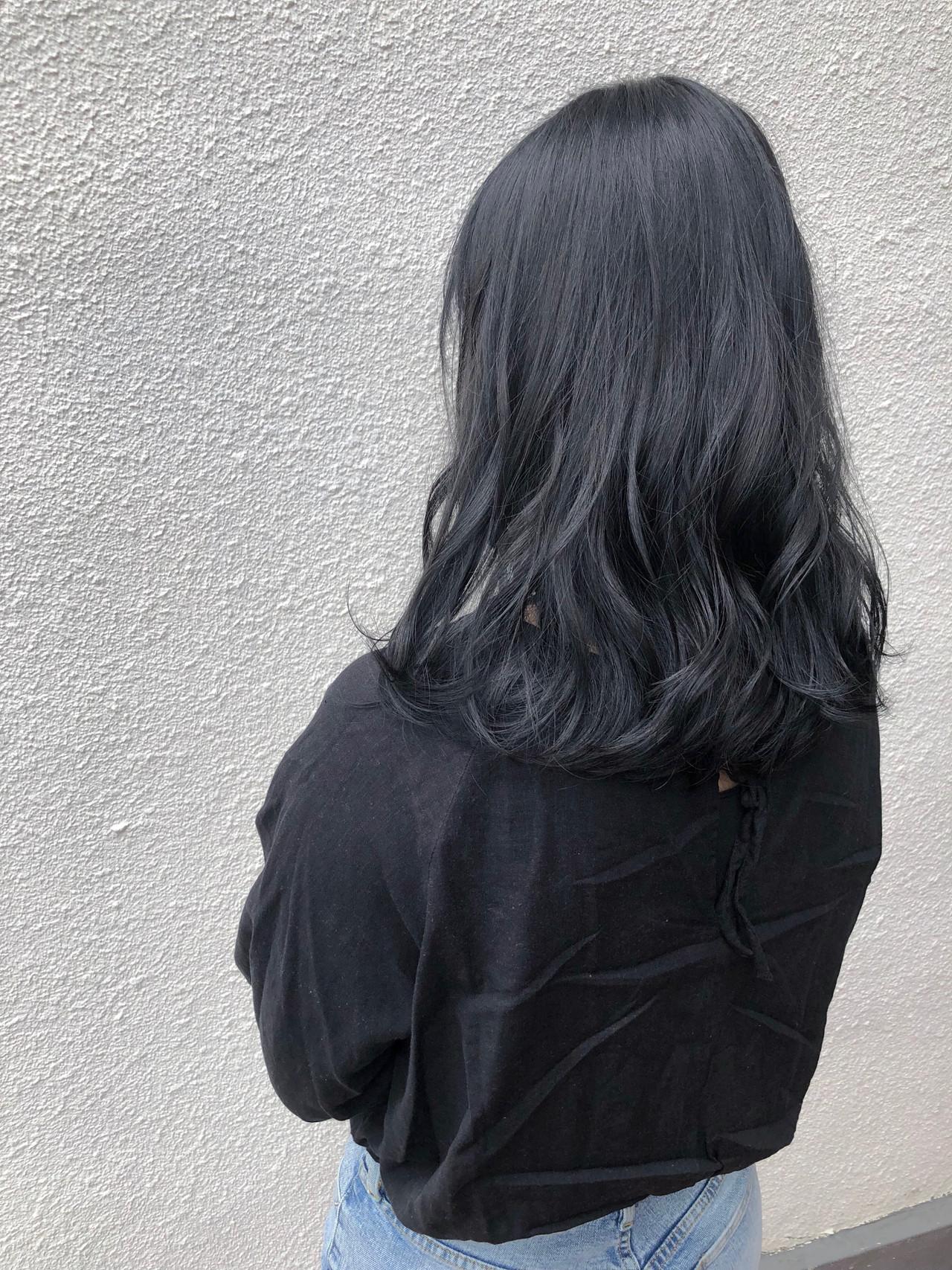 セミロング ナチュラル可愛い ナチュラル 抜け感 ヘアスタイルや髪型の写真・画像 | 篠田 雅樹 / Ame briller 【アムブリエ】