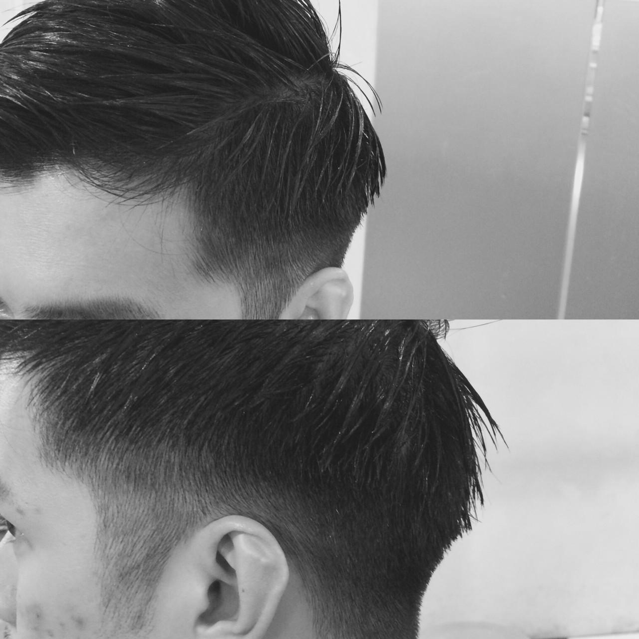 刈り上げ オフィス ボーイッシュ メンズ ヘアスタイルや髪型の写真・画像 | 三瓶悠介 / KURASHIGE