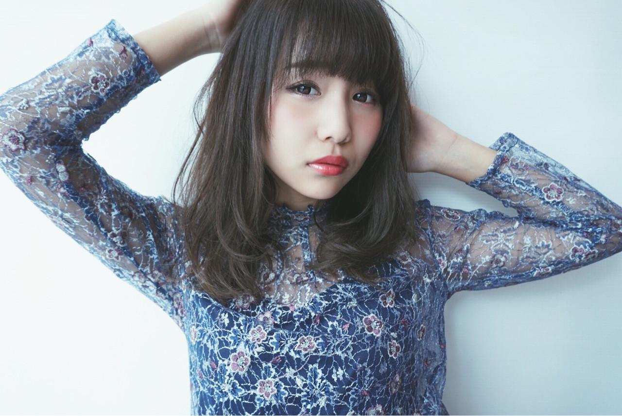 黒髪 デート 結婚式 パーマ ヘアスタイルや髪型の写真・画像 | TSUBASA / IU