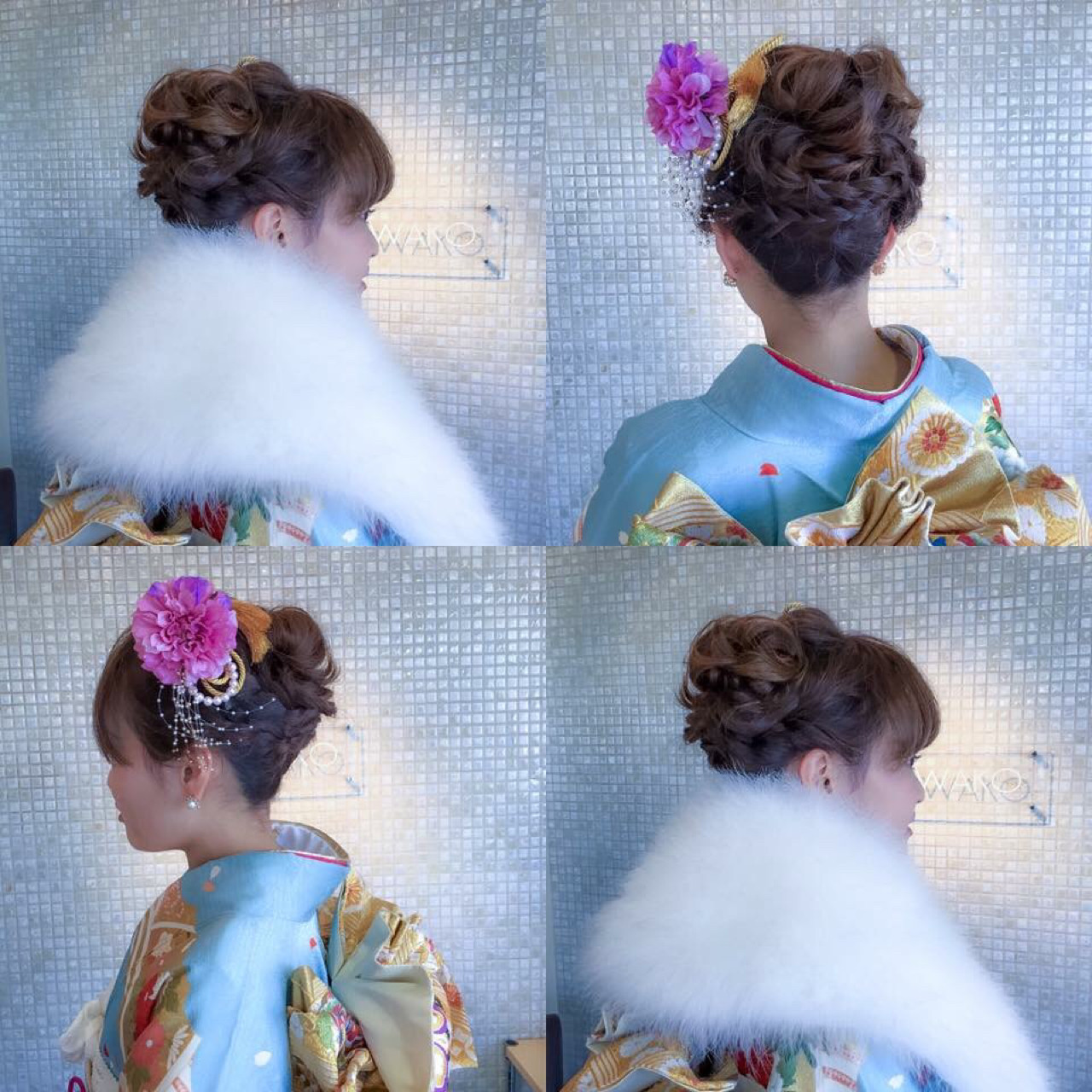 上品 エレガント 振袖 成人式 ヘアスタイルや髪型の写真・画像