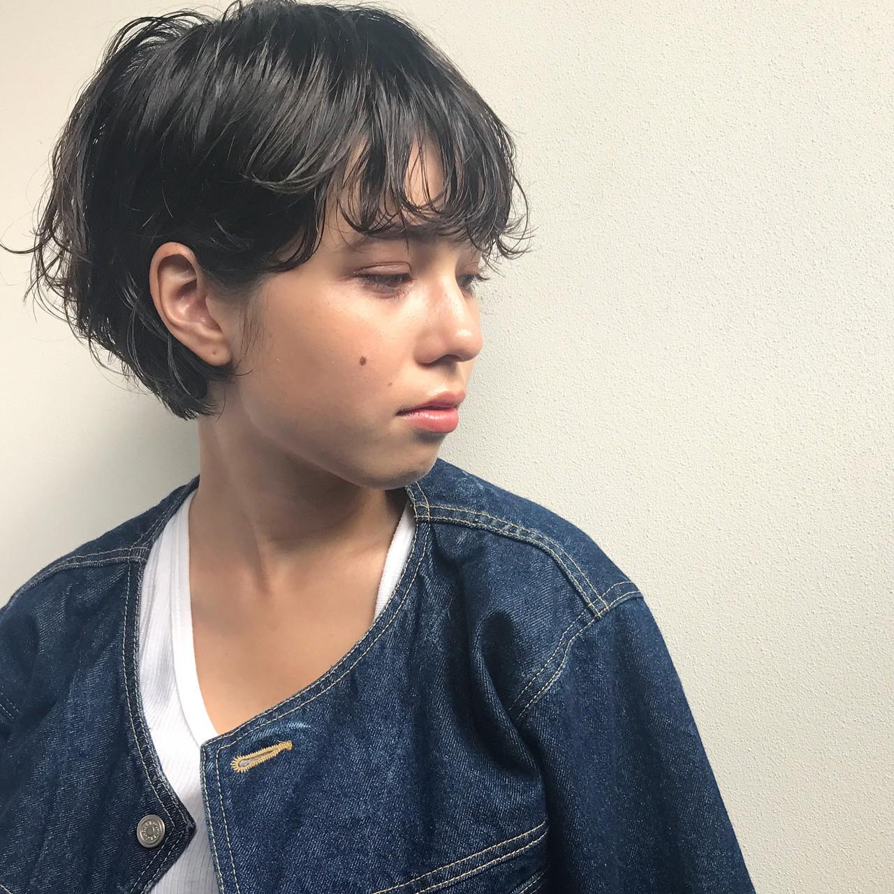 ナチュラル パーマ スポーツ こなれ感 ヘアスタイルや髪型の写真・画像   高橋 忍 / nanuk渋谷店(ナヌーク)