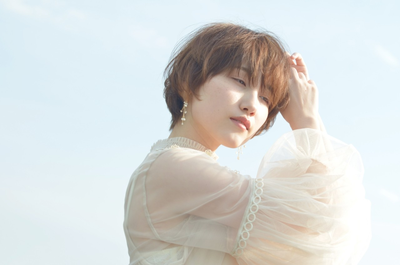 アンニュイ 透明感 大人かわいい デート ヘアスタイルや髪型の写真・画像