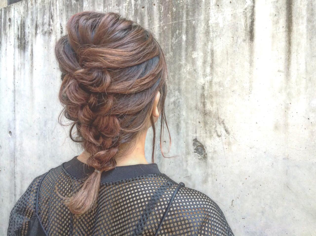 アッシュ ヘアアレンジ 簡単ヘアアレンジ ショート ヘアスタイルや髪型の写真・画像 | 杉谷紗耶/Ravo / Ravo