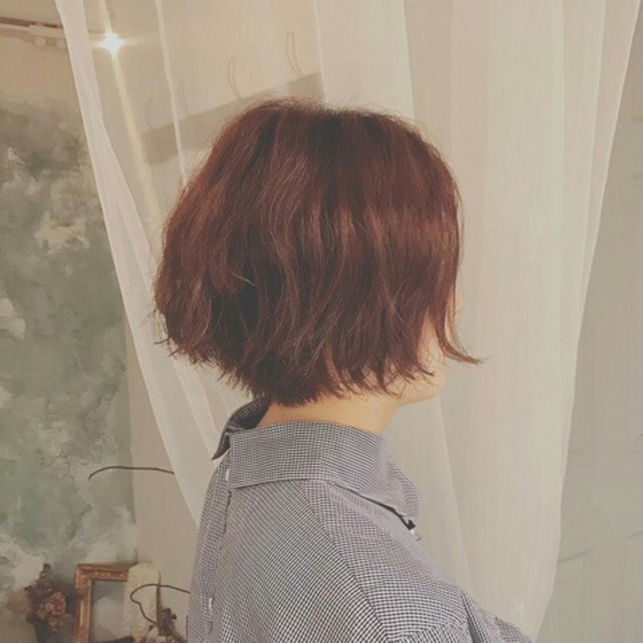 パーマ 色気 外国人風 ナチュラル ヘアスタイルや髪型の写真・画像
