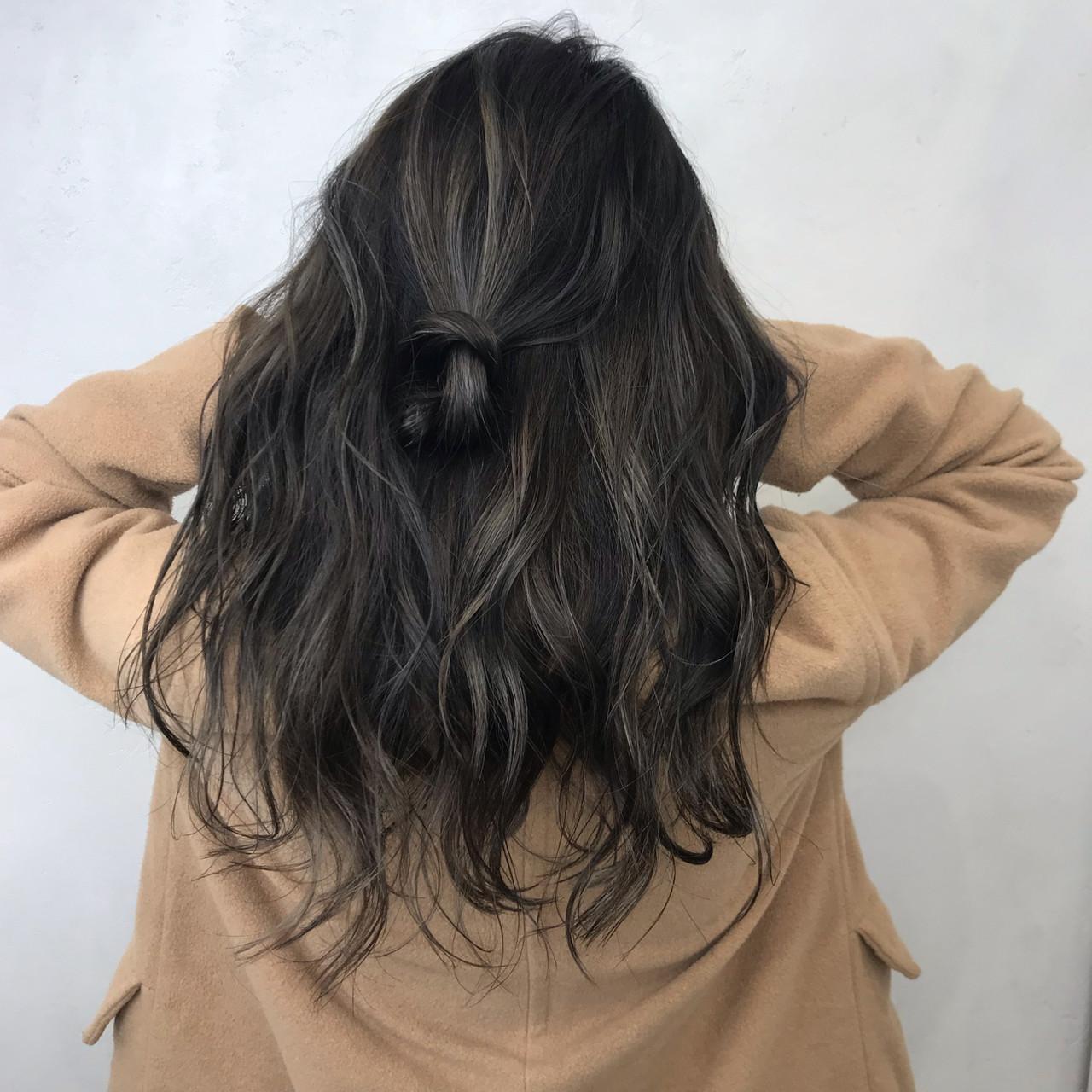 秋 冬 透明感 アッシュ ヘアスタイルや髪型の写真・画像 | クロサワ / LUFE byKENJE