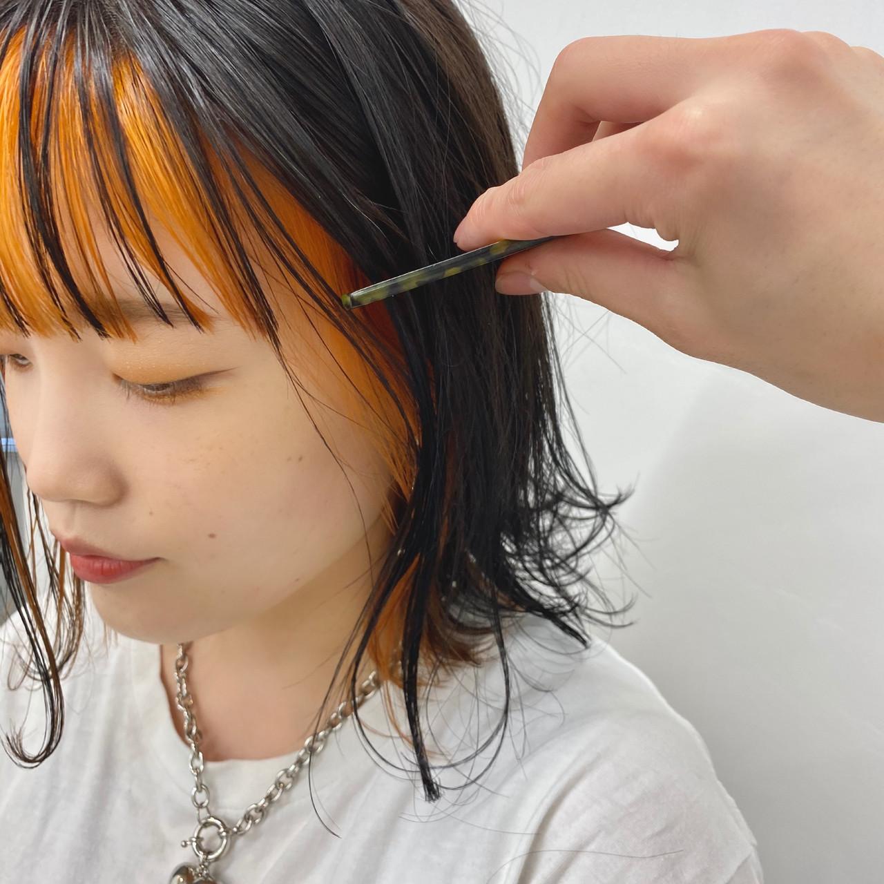 ナチュラル モテボブ 切りっぱなしボブ ボブ ヘアスタイルや髪型の写真・画像 | 【ショート&ショートボブはお任せください】淺川聖 / parc sapporo
