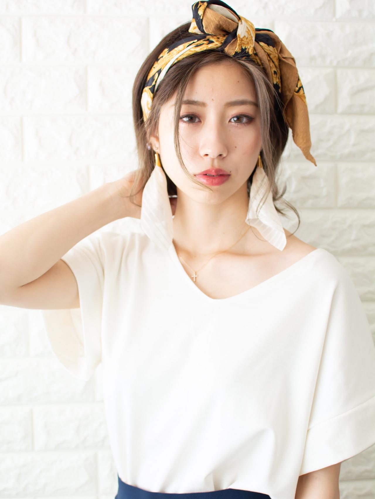 フェミニン ミディアムヘアー 大人可愛い ミディアム ヘアスタイルや髪型の写真・画像 | 【noine】斉藤 正敏 / noine