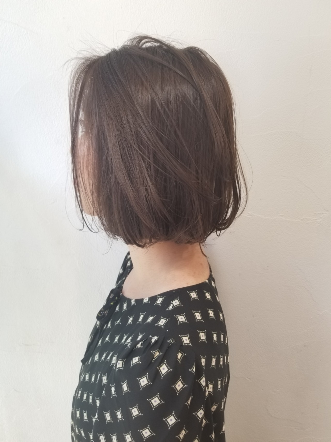 ボブ リラックス ショート かわいい ヘアスタイルや髪型の写真・画像 | 川田 義人 GREEK hairdesign / GREEK  hairdesign【グリーク】