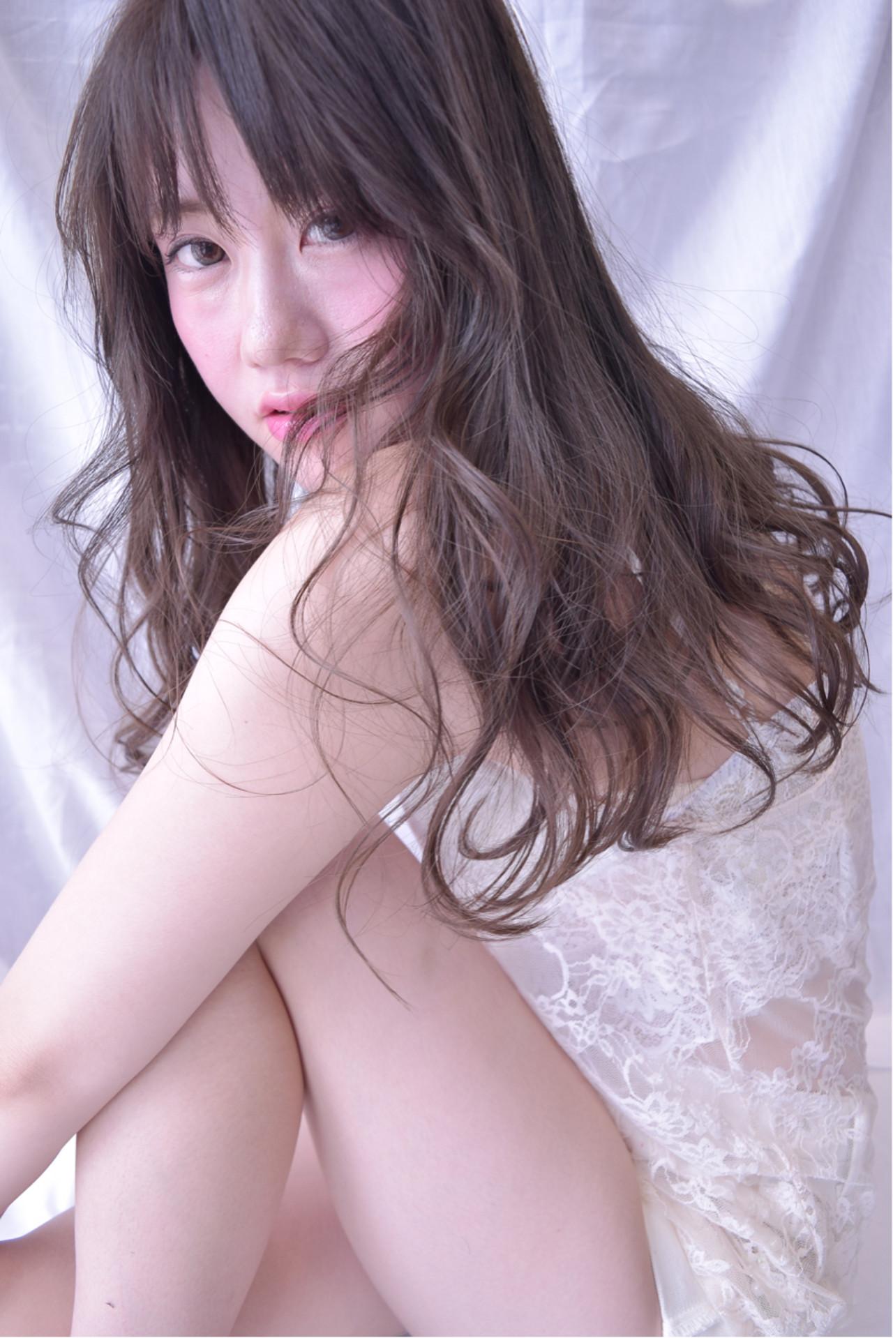 ヘアアレンジ 外国人風 夏 涼しげ ヘアスタイルや髪型の写真・画像