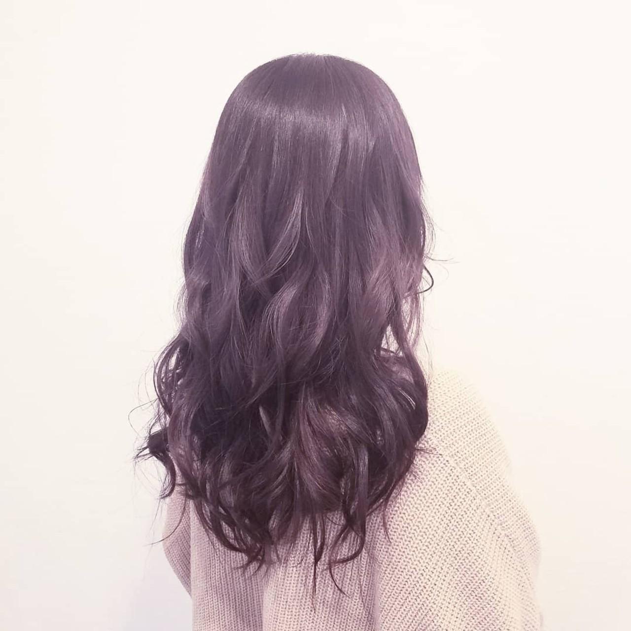 春 デート ナチュラル 艶髪 ヘアスタイルや髪型の写真・画像