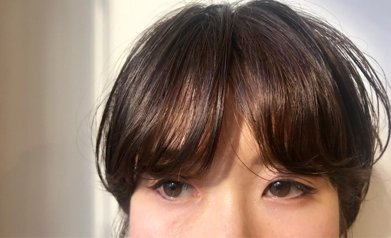 モード 簡単 パーマ 小顔 ヘアスタイルや髪型の写真・画像