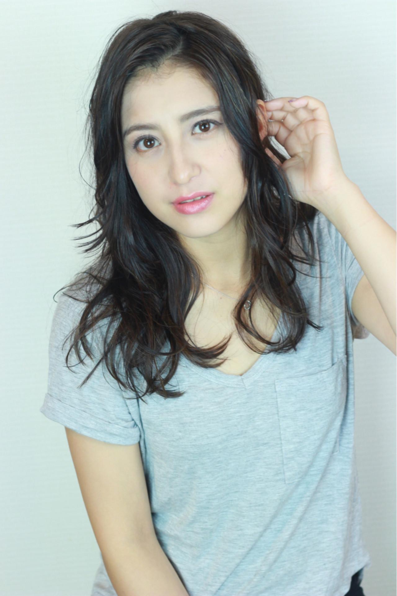 ハイライト エフォートレス デート 大人かわいい ヘアスタイルや髪型の写真・画像 | 松田 和幸 / tuuli