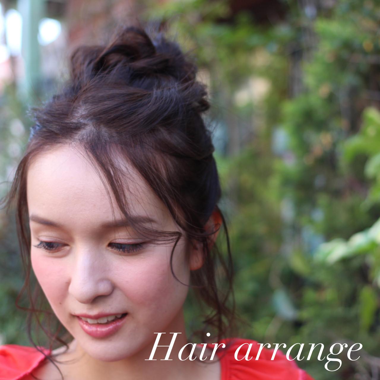 前髪あり ミルクティー ロング ハーフアップ ヘアスタイルや髪型の写真・画像 | エッセンシャル / 鹿児島 / Essential haircare & beauty