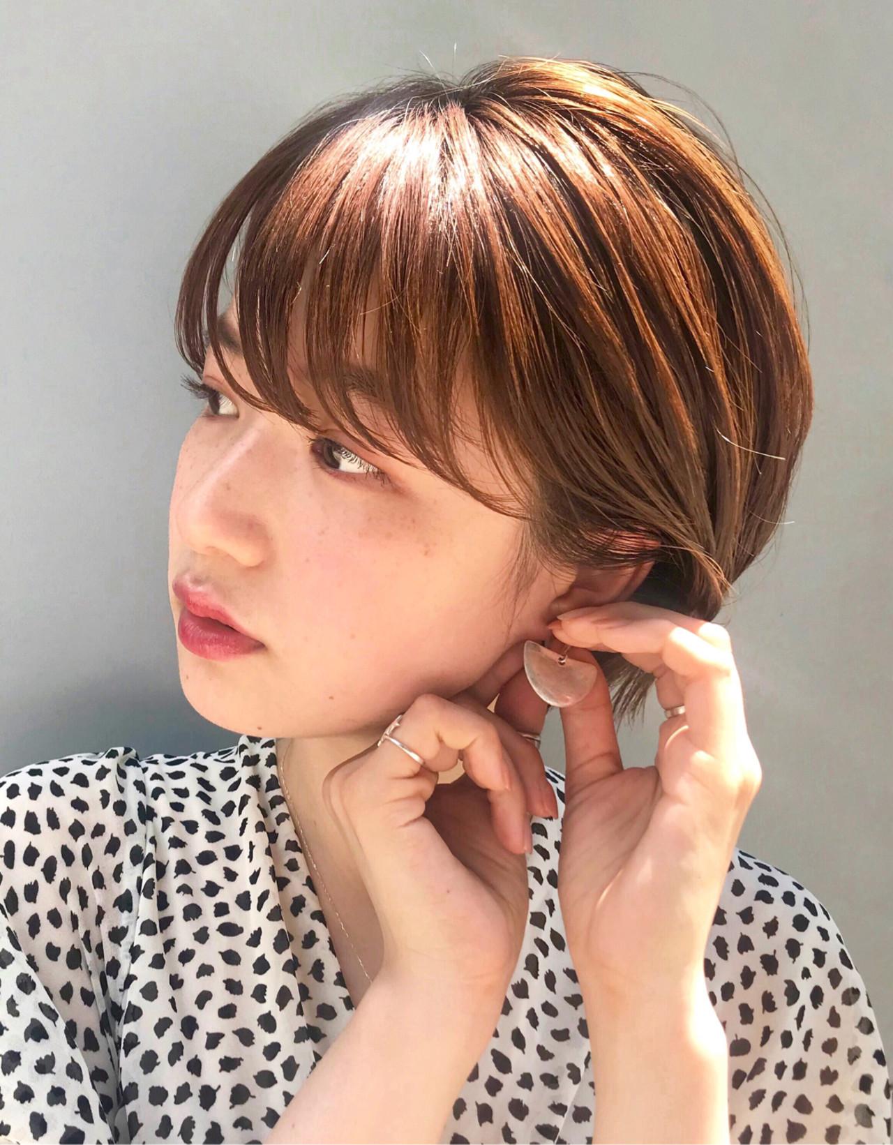オフィス アンニュイほつれヘア デート ナチュラル ヘアスタイルや髪型の写真・画像
