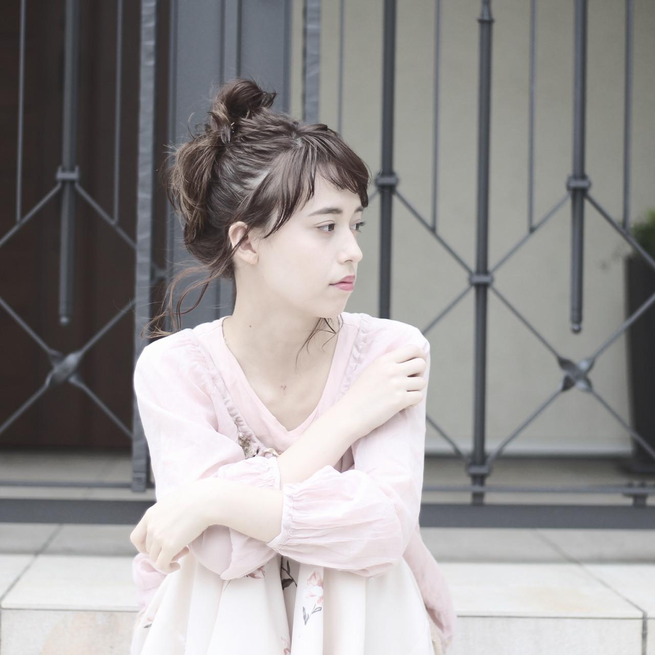 ミディアム ショート ヘアオイル ナチュラル ヘアスタイルや髪型の写真・画像 | 齋藤 譲 / hair make canvas
