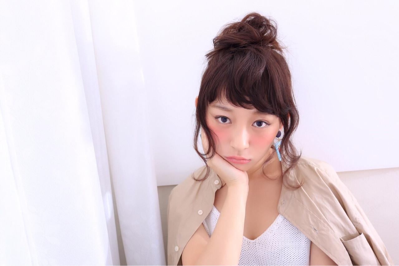 ゆるふわ ルーズ 大人かわいい ミディアム ヘアスタイルや髪型の写真・画像 | mayu /