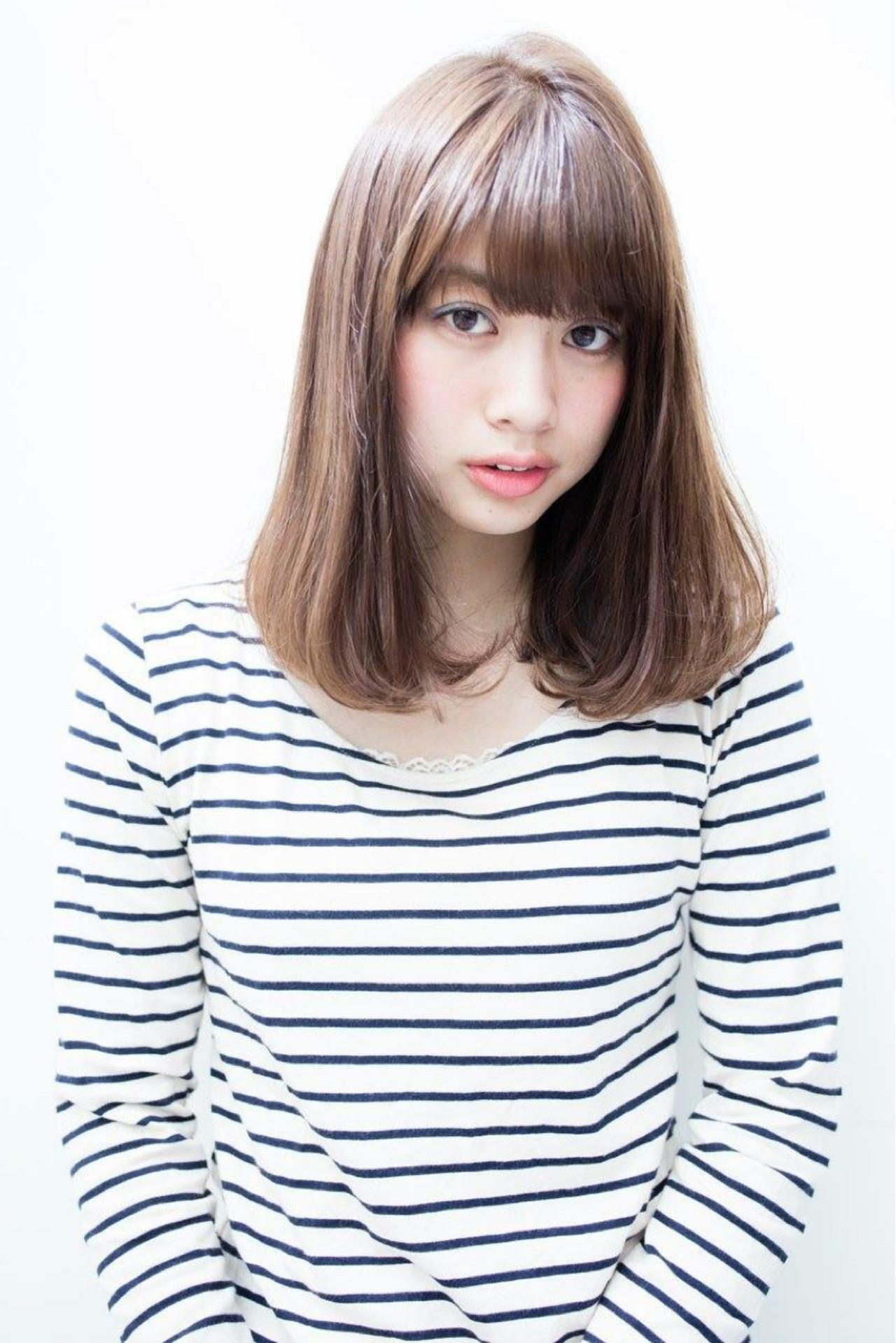 ゆるふわ 簡単 外国人風 セミロング ヘアスタイルや髪型の写真・画像 | 内藤 達也 / Star