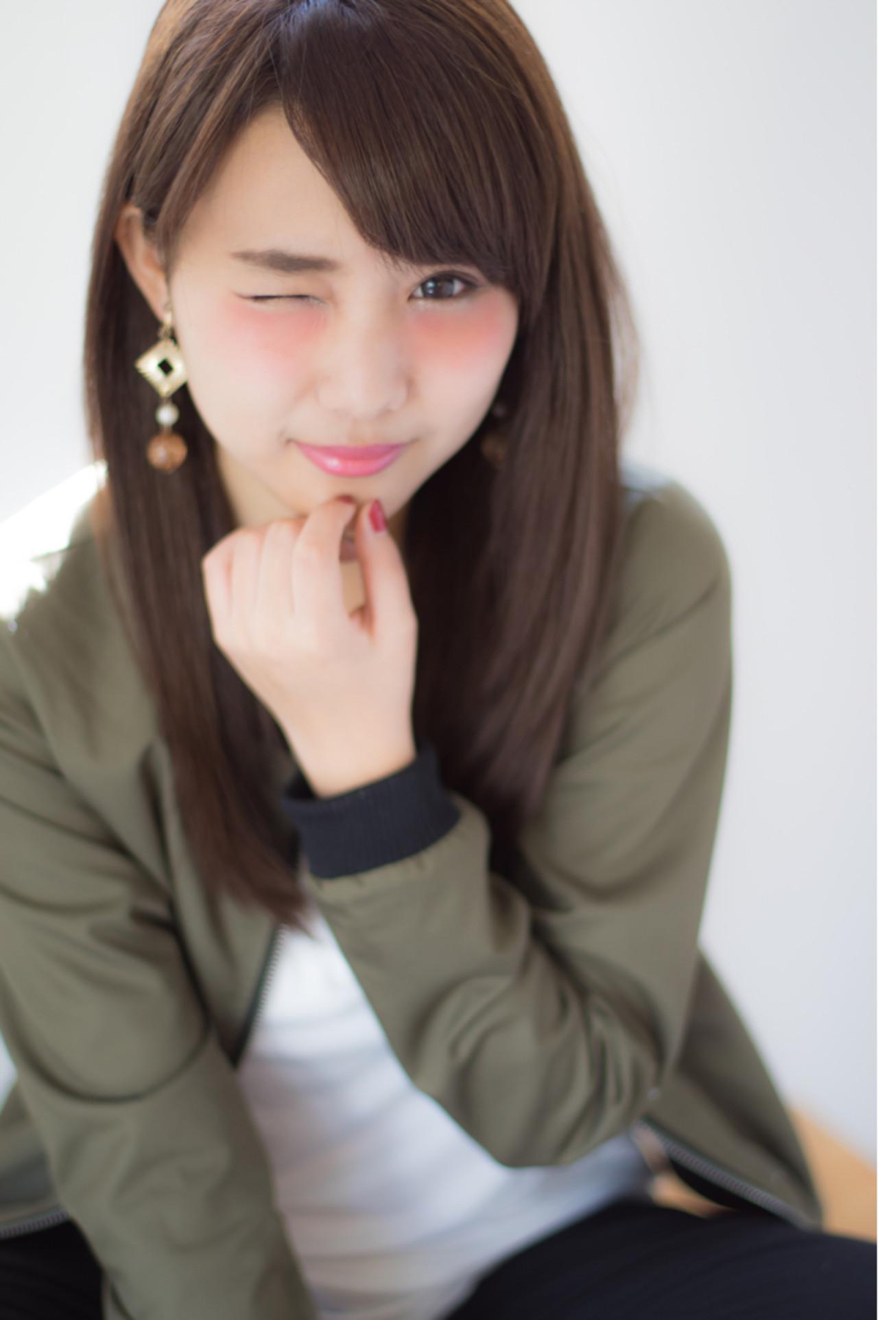 ストリート セミロング 大人かわいい ゆるふわ ヘアスタイルや髪型の写真・画像 | 高田 紘希 / Rr hair salon