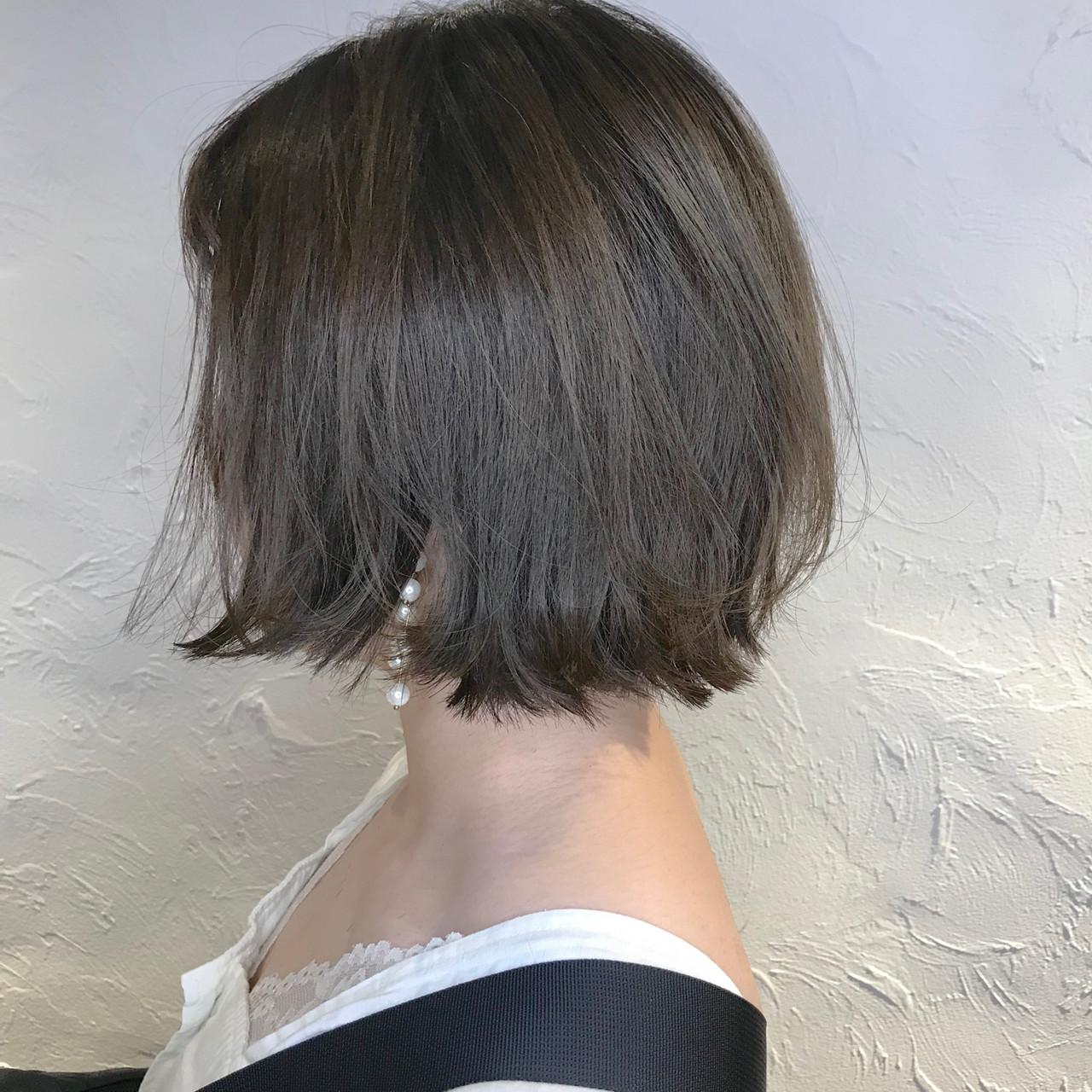 ミルクグレージュ ブルーグラデーション ミント バイオレットアッシュ ヘアスタイルや髪型の写真・画像