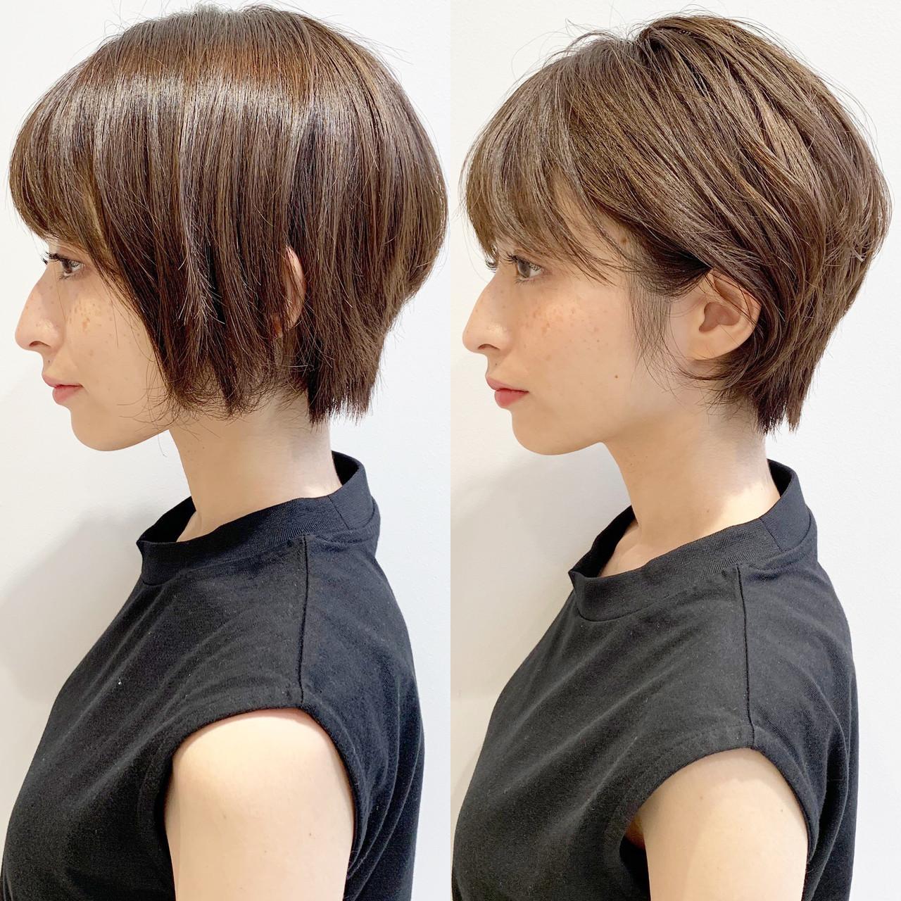 スポーツ アウトドア モード デート ヘアスタイルや髪型の写真・画像 | ショートヘア美容師 #ナカイヒロキ / 『send by HAIR』