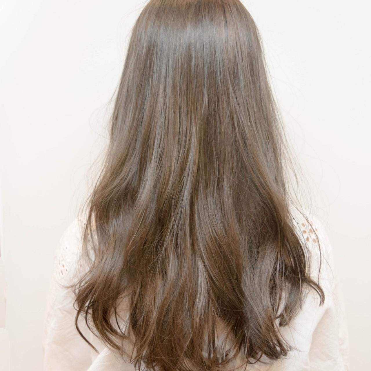 外国人風 ブルージュ フェミニン グレージュ ヘアスタイルや髪型の写真・画像 | Yoshiaki harada / BLOCK hairmake