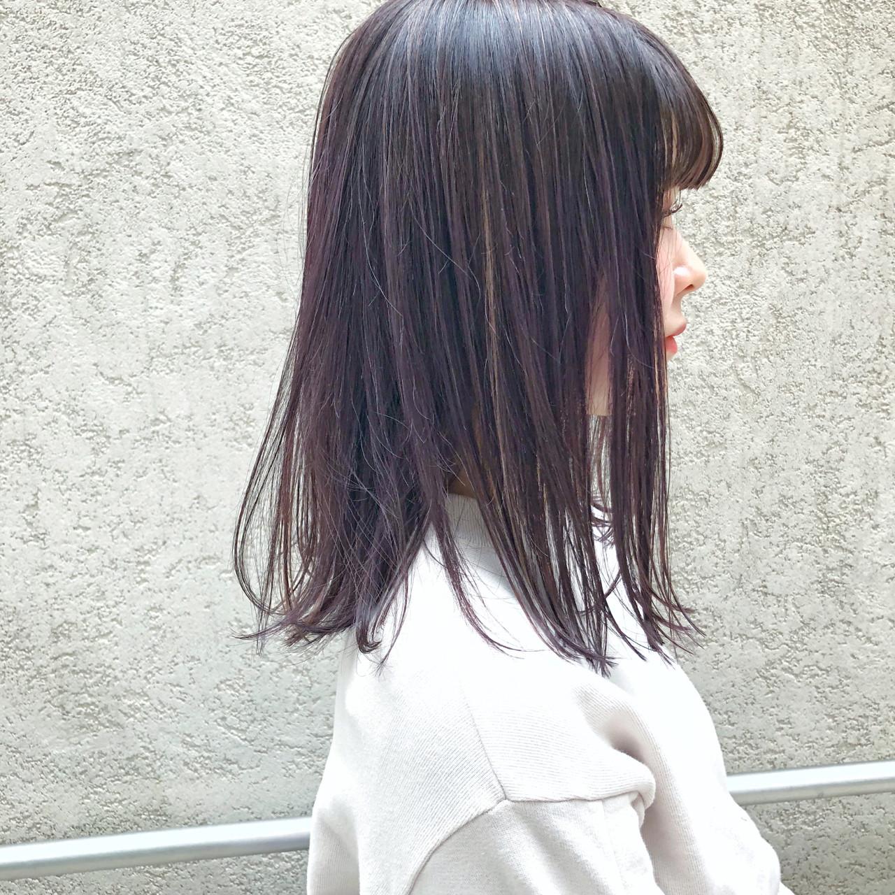 ロブ モード ハイライト ボブ ヘアスタイルや髪型の写真・画像   Ryota Yamamoto Daisy / Daisy