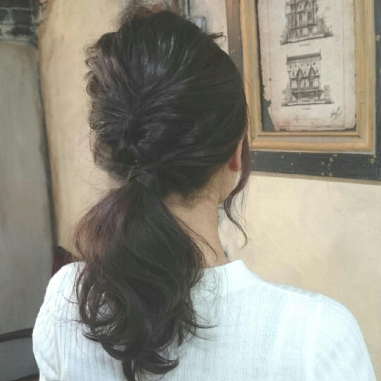 ショート 大人かわいい ヘアアレンジ 波ウェーブ ヘアスタイルや髪型の写真・画像