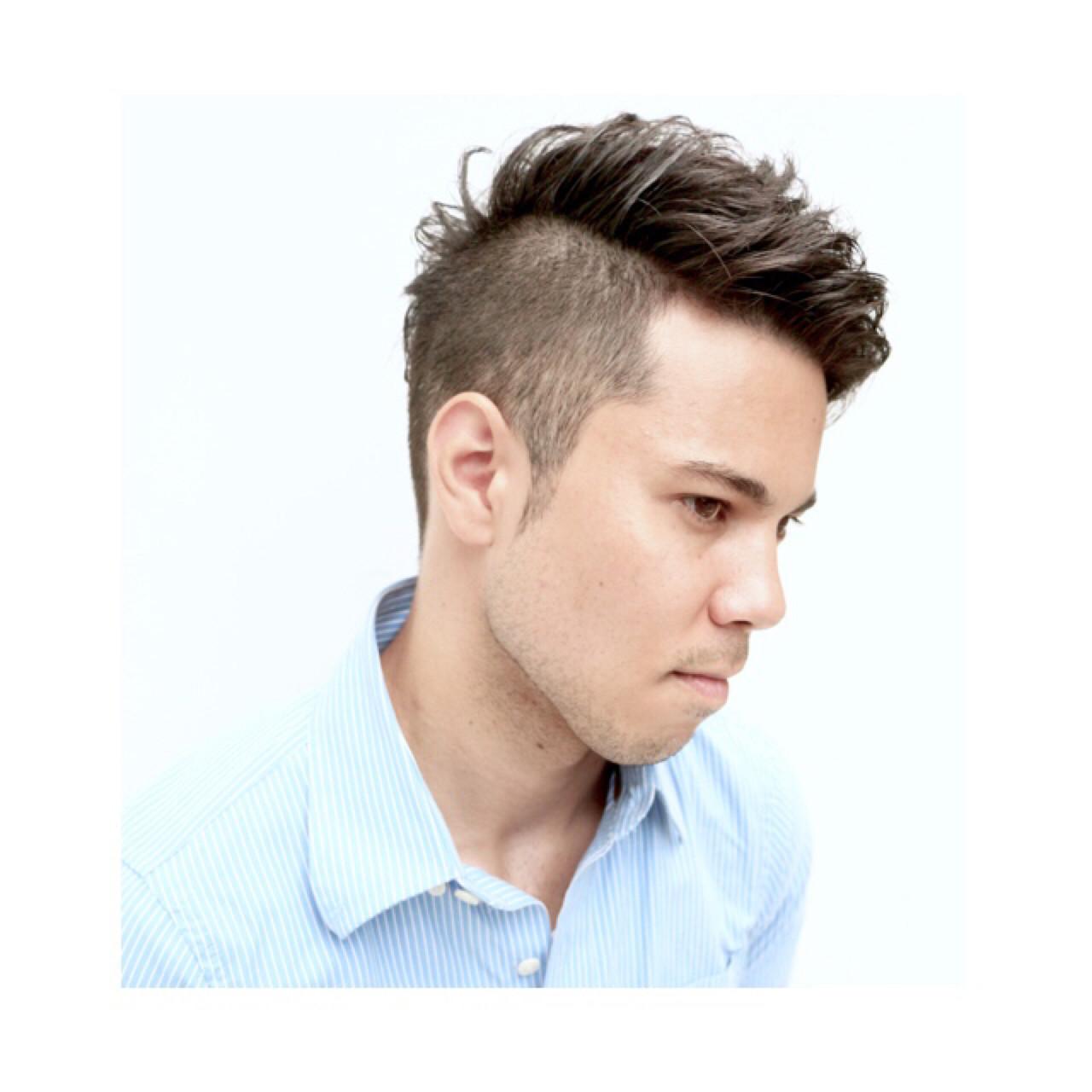 外国人風 坊主 ボーイッシュ ストリート ヘアスタイルや髪型の写真・画像 | ◆Takumi◆ / Beronica