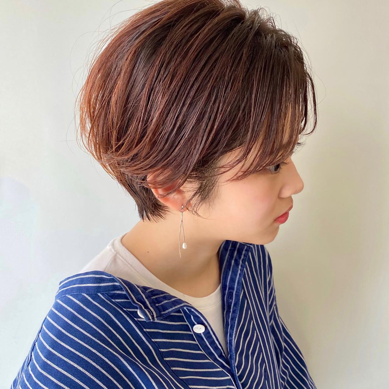 ショート ショートボブ ナチュラル ショートヘア ヘアスタイルや髪型の写真・画像 | 【ショート&ショートボブはお任せください】淺川聖 / parc sapporo
