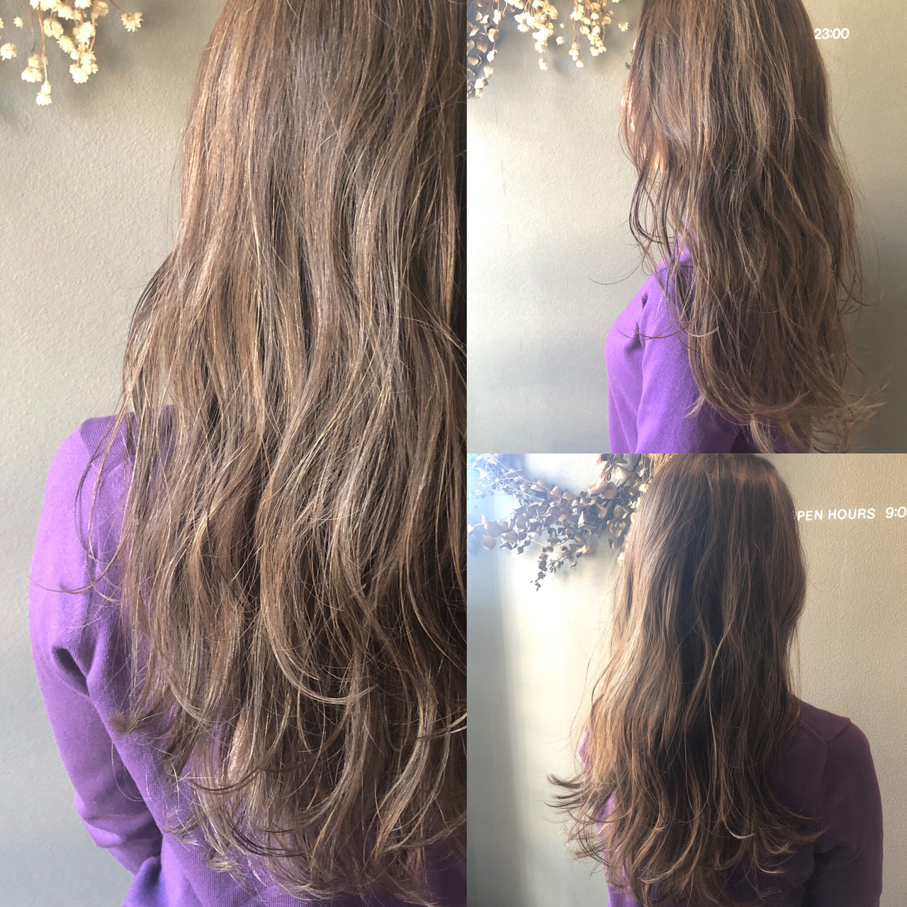 アンニュイほつれヘア アウトドア オフィス パーマ ヘアスタイルや髪型の写真・画像