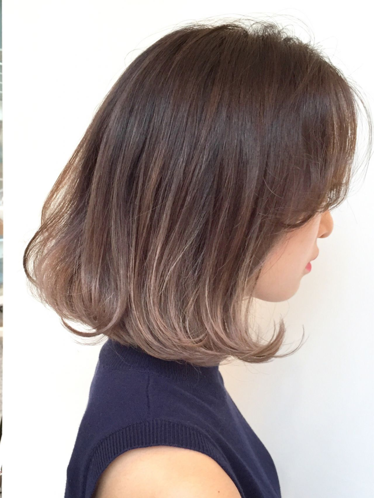 外国人風 外国人風カラー グラデーションカラー ハイライト ヘアスタイルや髪型の写真・画像