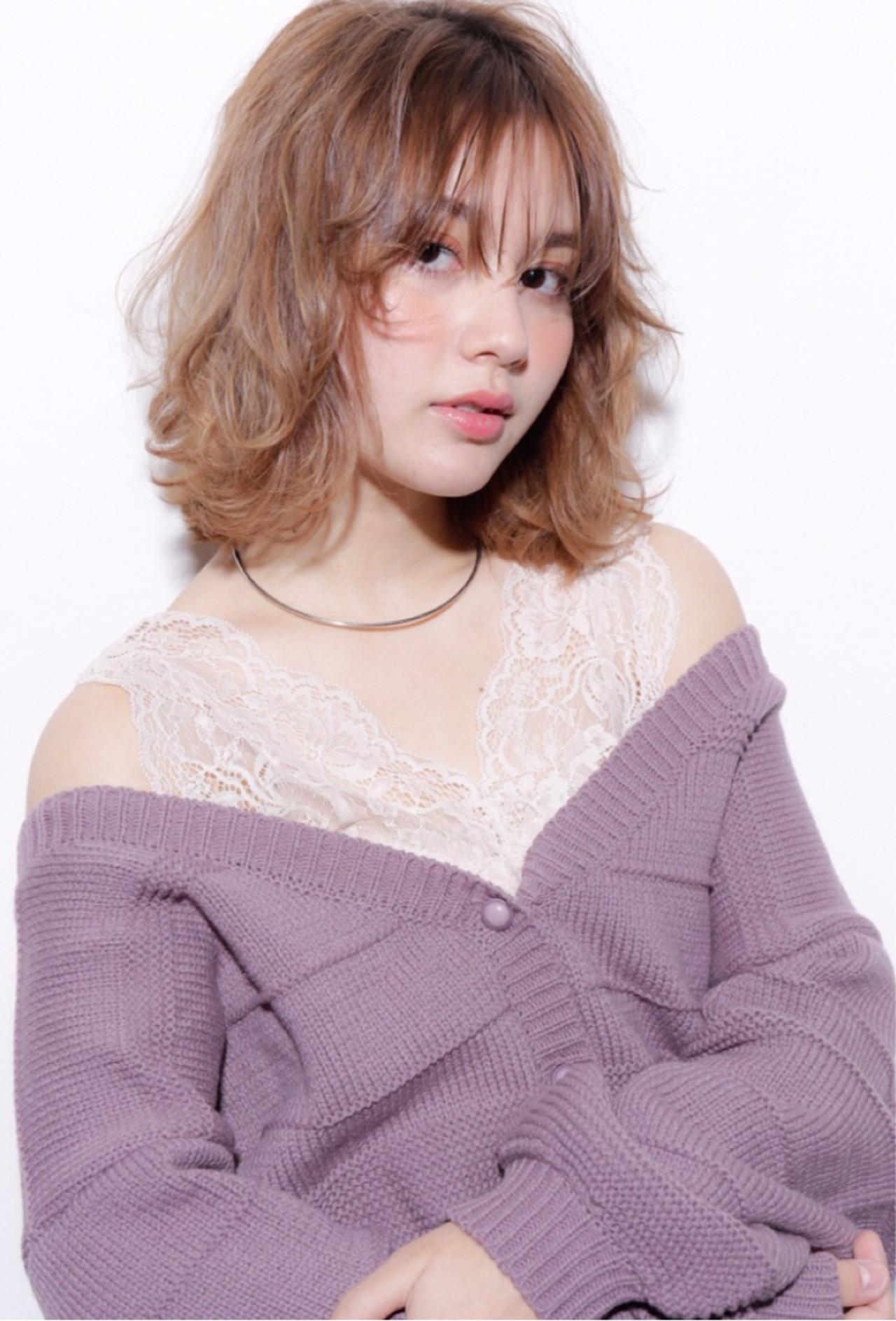簡単ヘアアレンジ ウェーブ ヘアアレンジ デート ヘアスタイルや髪型の写真・画像