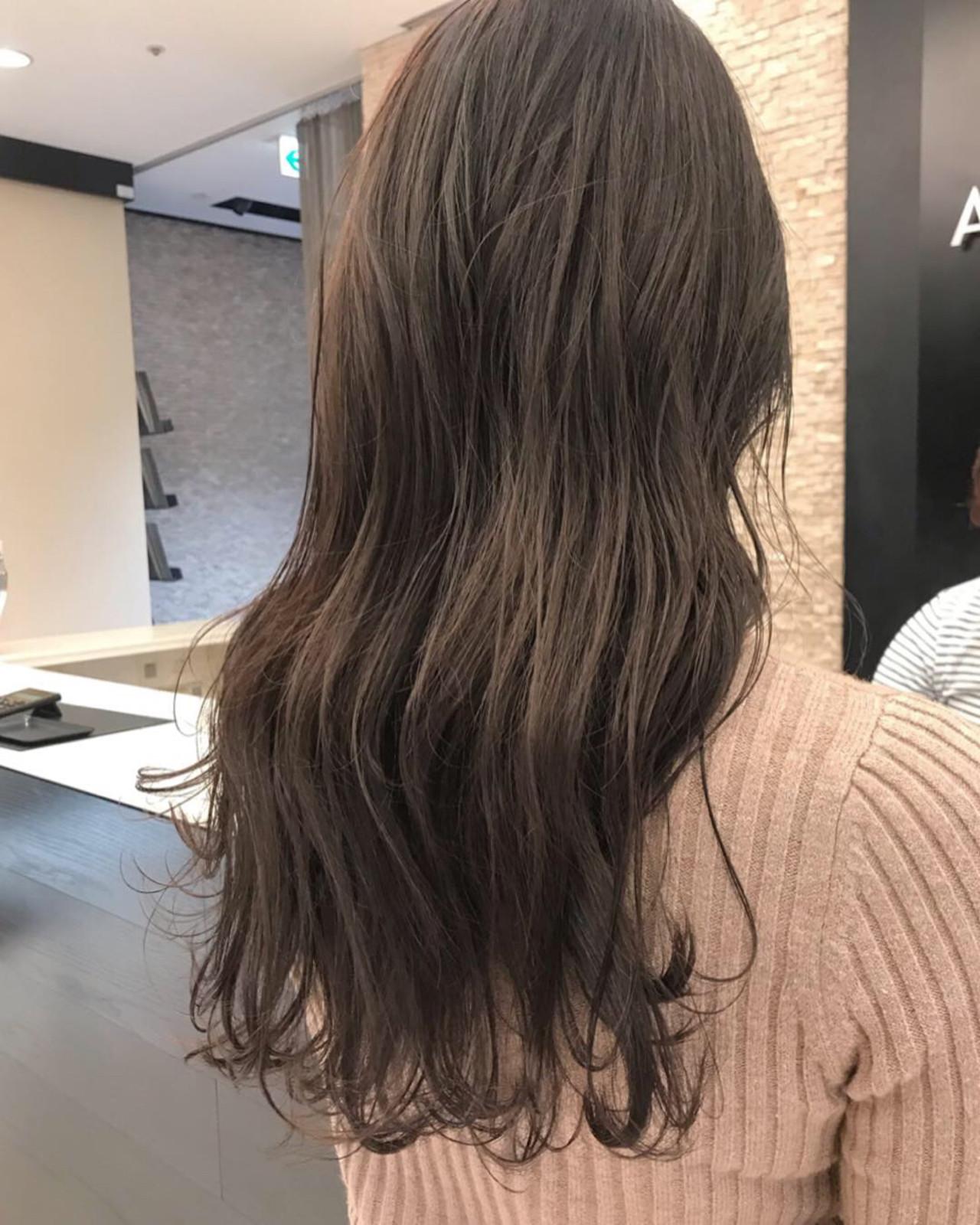 ゆるふわ 秋 透明感 ナチュラル ヘアスタイルや髪型の写真・画像 | wada / tripletta