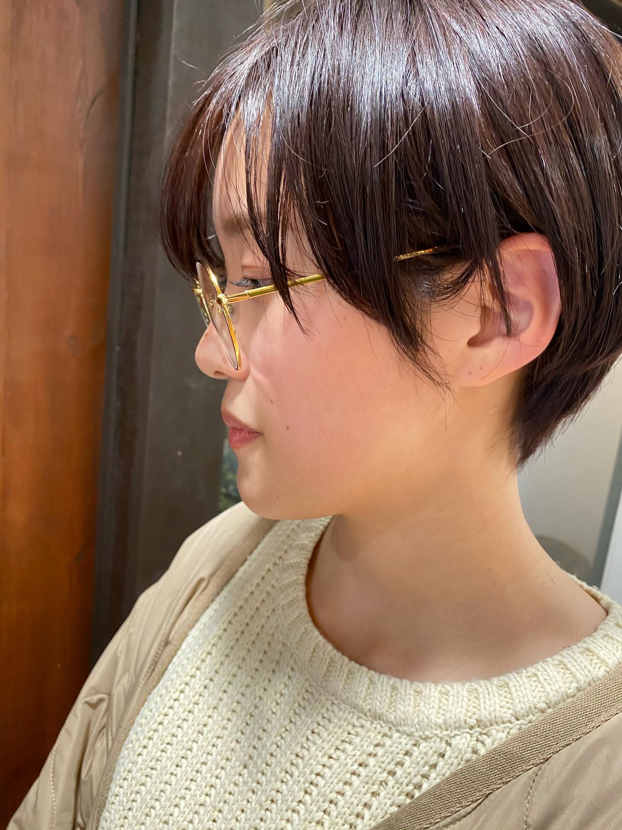 ショートヘア 切りっぱなしボブ ショートボブ ウルフカット ヘアスタイルや髪型の写真・画像 | 川田 義人 GREEK hairdesign / GREEK  hairdesign【グリーク】