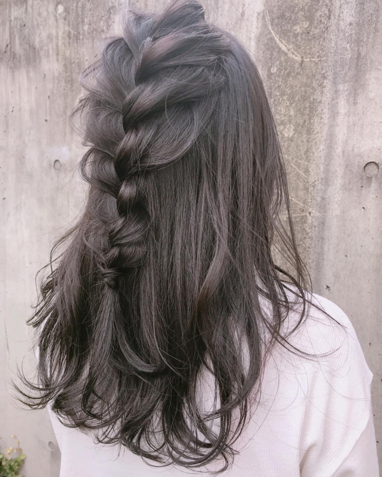 結婚式 オフィス ヘアアレンジ エレガント ヘアスタイルや髪型の写真・画像
