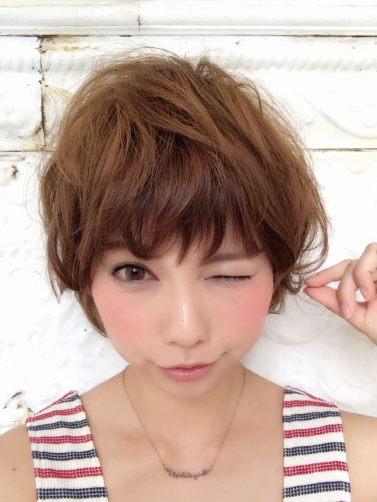 フェミニン 丸顔 大人かわいい ヘアアレンジ ヘアスタイルや髪型の写真・画像
