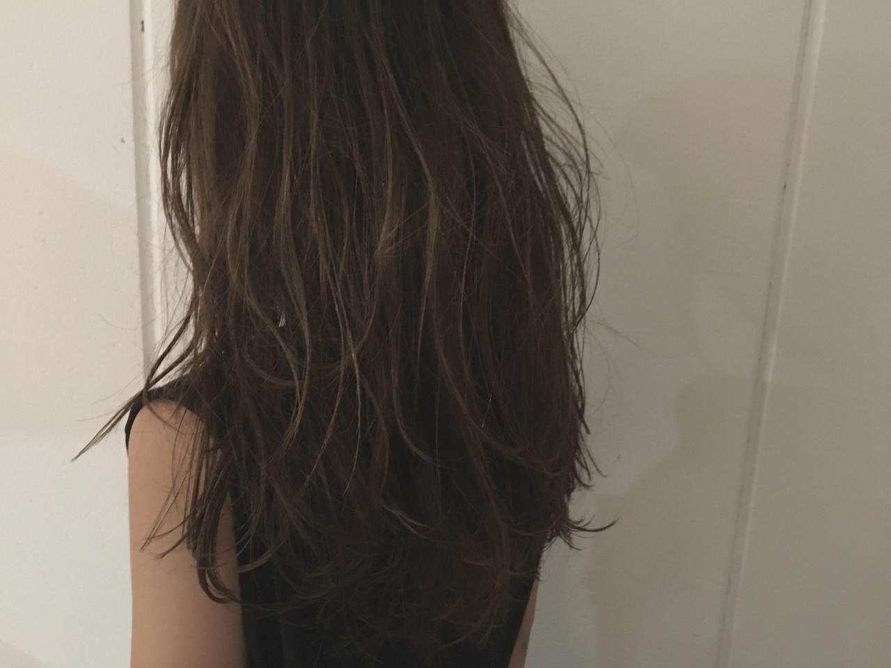 ストリート セミロング 暗髪 ウェットヘア ヘアスタイルや髪型の写真・画像 | 杉谷 将也 / DiLL / DiLL