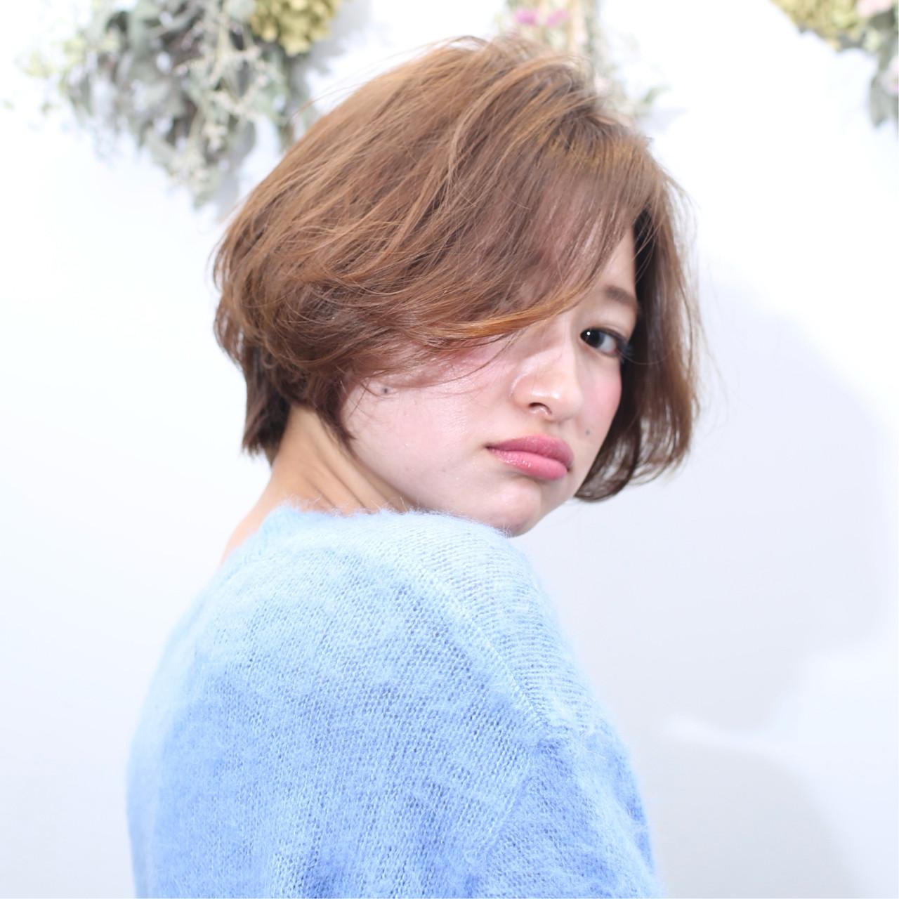 ショート ハンサムショート 小顔ショート ベリーショート ヘアスタイルや髪型の写真・画像 | 松尾 菜々美 / plug by neolive