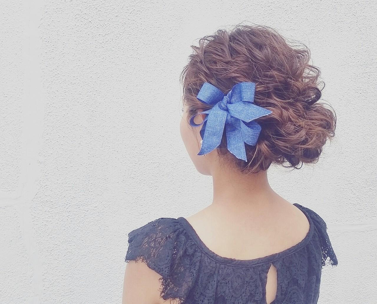 フェミニン ロング ゆるふわ 夏 ヘアスタイルや髪型の写真・画像